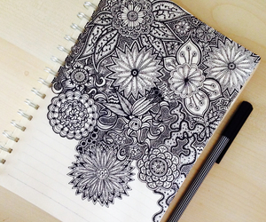 mandala, drawing, and art image