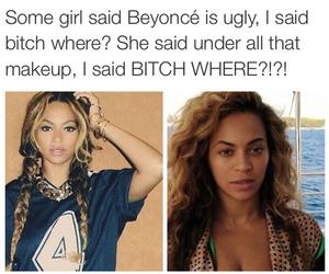 beyoncé, makeup, and queen b image