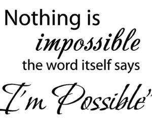 impossible, motivation, and possible image