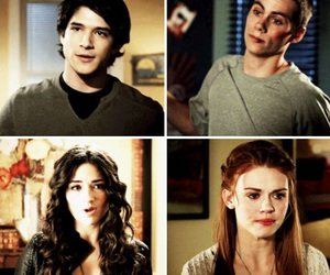 teen wolf, stydia, and scallison image
