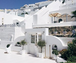 beauty, Greece, and santorini image