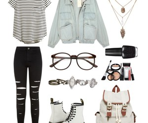 fashion, dr. martens, and outfit image