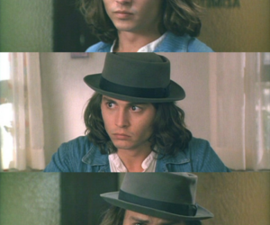 90s, johnny depp, and young johnny depp image