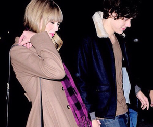 taylorswift, haylor, and harrystyles image