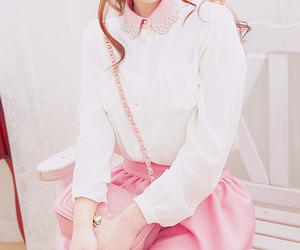 fashion, pink, and pastel image