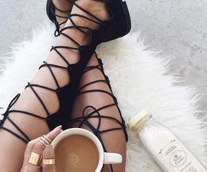 chocolate, fashion, and coffee image