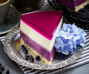 blueberry, delicious, and dessert image