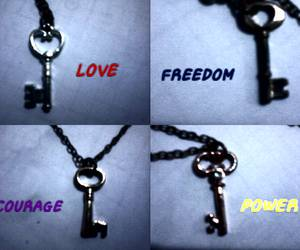 freedom, corage, and love image