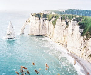 france, etretat, and normandie image