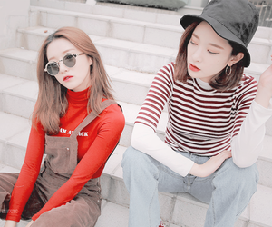 best friends, korean, and ulzzang image