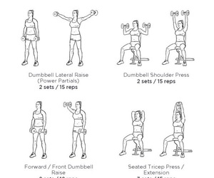 active, shoulders, and arms image