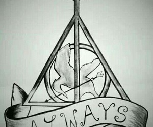 harry potter, always, and percy jackson image