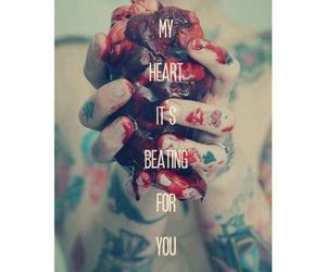 heart, love, and piercetheveil image