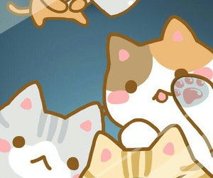 cats, Gatos, and cute image