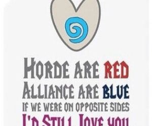 horde, world of warcraft, and alliance image