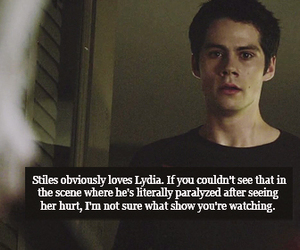 stiles, holland roden, and dylan o'brien image