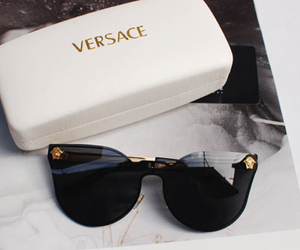 Versace, fashion, and sunglasses image