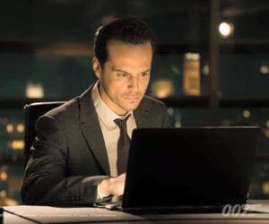 andrew scott, spectre, and jim moriarty image