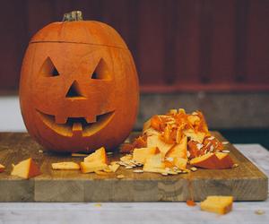 Halloween, photography, and pumpkin image