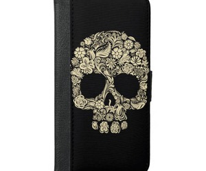 skull, iphone case, and case image