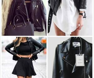 accessories, black and white, and woman image