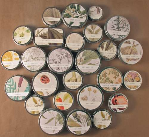 Image de magnetic, storage, and spice jars