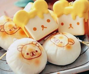 cute, rilakkuma, and food image
