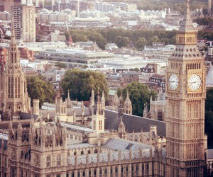 Big Ben, gold, and hour image