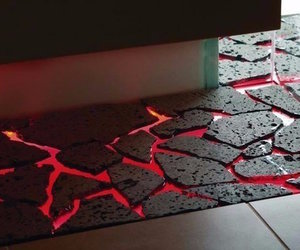 lava, floor, and flow image