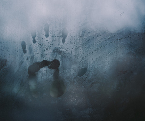 hand, grunge, and cold image
