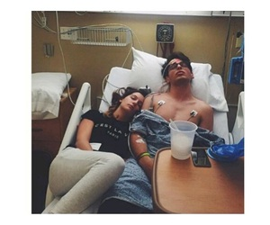couple and hospital image