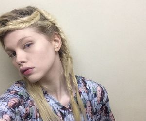 beauty, blonde, and grunge image