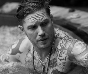tom hardy, Hot, and tattoo image