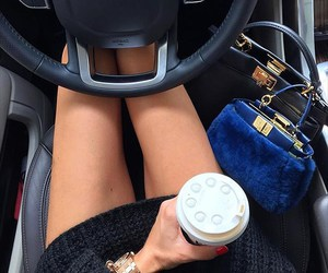 car and coffee image