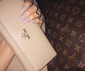 nails, Prada, and luxury image