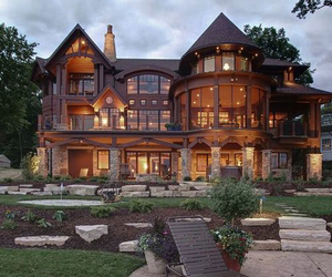 house, luxury, and home image