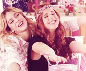 violetta, martina stoessel, and candelaria molfese image