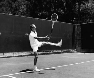 tennis, paul newman, and sport image