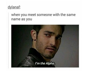 teen wolf, alpha, and funny image