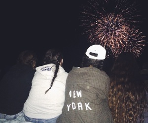fireworks, fourth of july, and summer image