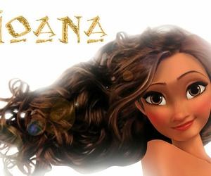 moana, disney, and princess image