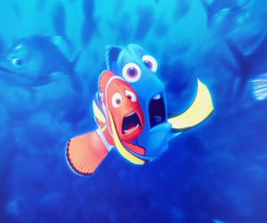 finding nemo, nemo, and disney image