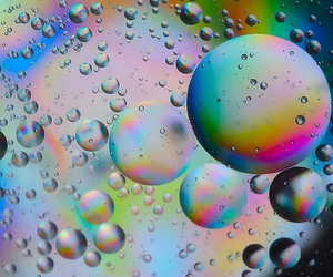 color, bubbles, and water image