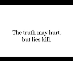 quote, truth, and hurt image
