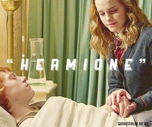 harry potter, romione, and hermione image