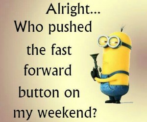 minions, funny, and weekend image