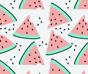colors, wallpaper, and watermelon image