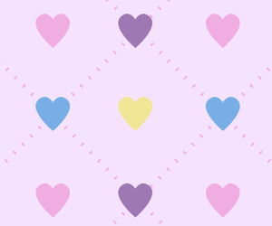 hearts, iphone, and wallpaper image