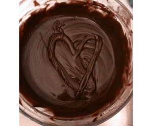 heart, love chocolate, and love image