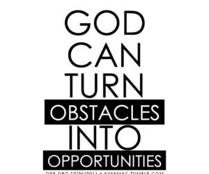 god, life, and opportunity image